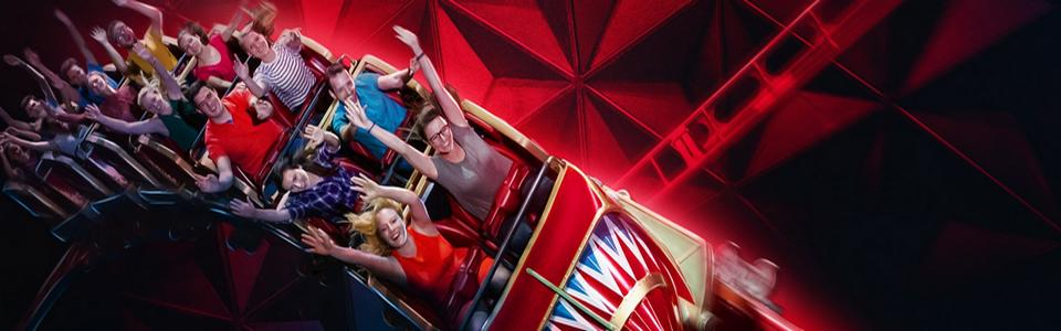 Europa Parc avec plus de 100 attractions, incontournable !