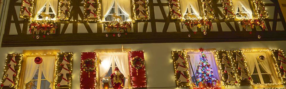 Kaysersberg un marché de noel féerique en Alsace