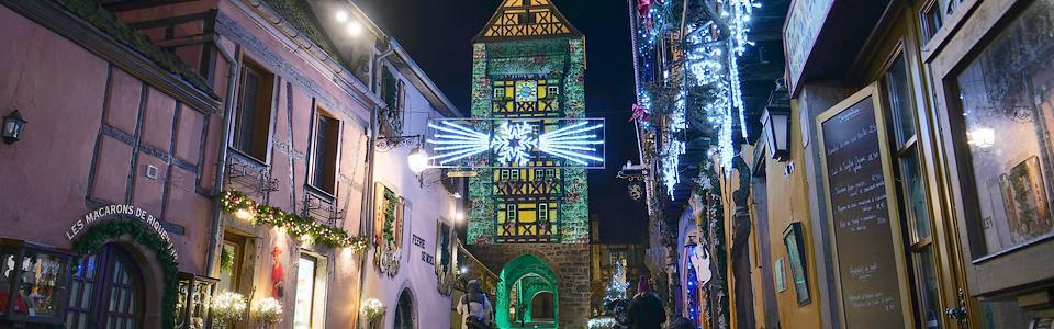 Marché de Noel à Riquewihr en Alsace incontournable